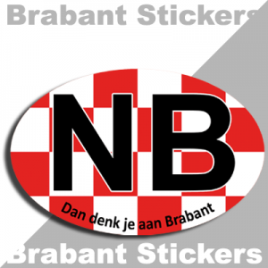 Brabant sticker